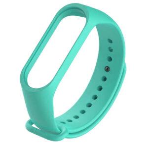 Ремешок для фитнес-браслета Xiaomi Mi Band 3 / 4 – Бирюзовый / Ocean Blue