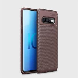 Силиконовый чехол Ipaky Kaisy Series для Samsung Galaxy S10 (G973) – Коричневый