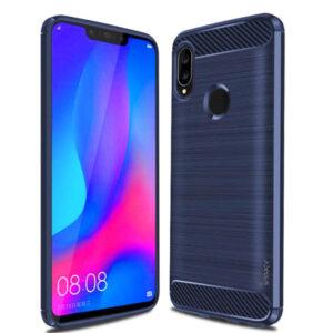 Силиконовый чехол Ipaky Slim Series для Huawei P Smart 2019 – Синий