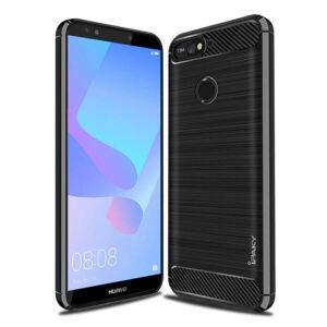 Силиконовый чехол Ipaky Slim Series для Huawei Honor 7A Pro / Y6 Prime 2018 – Черный