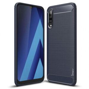 Силиконовый чехол Ipaky Slim Series для Samsung Galaxy A70 2019 (A705) – Синий