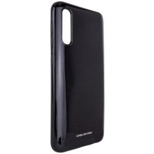 TPU чехол Molan Cano Glossy для Samsung Galaxy A70 2019 (A705) – Черный