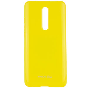 TPU чехол Molan Cano Glossy для Xiaomi Redmi K20 / K20 Pro / Mi 9T / Mi 9T Pro – Желтый