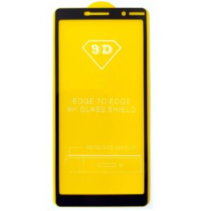 Защитное стекло 9D Full Glue Cover Glass на весь экран для Nokia 7 Plus – Black