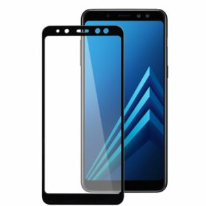 Защитное стекло 3D (5D) Perfect Glass Full Glue Ipaky на весь экран для Samsung Galaxy A8 2018 (A530) – Black