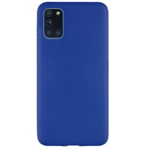 Матовый силиконовый TPU чехол для Samsung Galaxy M31s – Синий