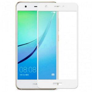 Защитное стекло 3D (5D) Full Glue Armor Glass на весь экран для Huawei Nova – White