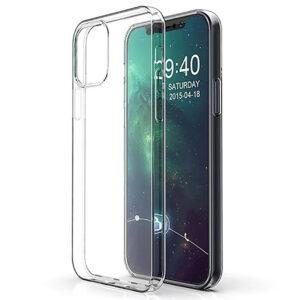 Прозрачный силиконовый TPU чехол для Iphone 12 Pro / 12