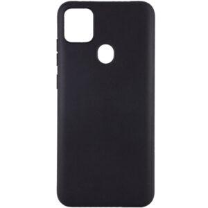 Матовый силиконовый TPU чехол для Xiaomi Redmi 9C – Черный