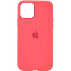 Оригинальный чехол Silicone Cover 360 с микрофиброй для Iphone 12 Pro / 12 – Розовый / Flamingo