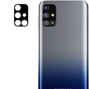 Гибкое защитное стекло 0.18mm на камеру для Samsung Galaxy M31s – Black