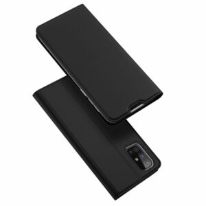 Чехол-книжка Dux Ducis с карманом для Samsung Galaxy M31s — Черный