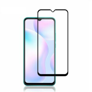 Защитное стекло 3D (5D) Full Glue Armor Glass на весь экран для Xiaomi Redmi 9A / 9C – Black