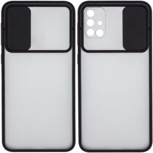 Чехол Camshield mate TPU со шторкой для камеры для Samsung Galaxy M31s – Черный