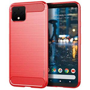 Силиконовый чехол Ipaky Slim Series для Google Pixel 4  – Красный