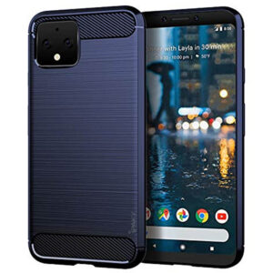 Силиконовый чехол Ipaky Slim Series для Google Pixel 4  – Синий