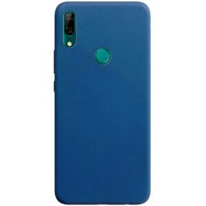 Матовый силиконовый TPU чехол на Huawei Y6s / Honor 8A – Синий