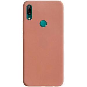 Матовый силиконовый TPU чехол для Huawei P Smart Z – Rose Gold