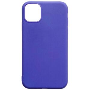 Матовый силиконовый TPU чехол для Iphone 12 Mini – Сиреневый