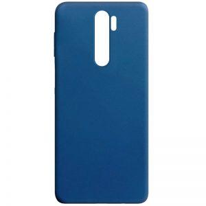 Матовый силиконовый TPU чехол для Oppo A5 (2020) / A9 (2020) – Синий
