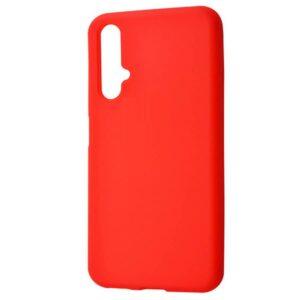 Матовый силиконовый TPU чехол для Huawei Honor 20 / Nova 5T – Красный