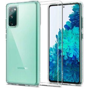 Прозрачный силиконовый TPU чехол для Samsung Galaxy S20 FE