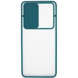 Чехол Camshield mate TPU со шторкой для камеры для Realme X3 SuperZoom / X3 / X50 – Зеленый