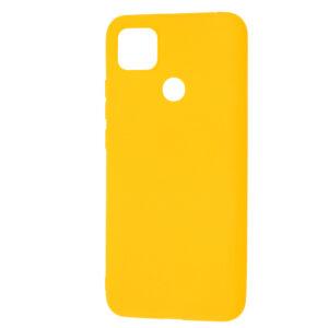 Матовый силиконовый TPU чехол для Xiaomi Redmi 9C – Желтый