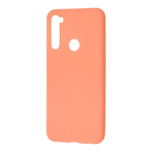 Матовый силиконовый TPU чехол для Xiaomi Redmi Note 8T – Rose Gold