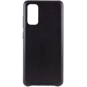 Кожаный чехол Leather Case для Samsung Galaxy S20 – Черный