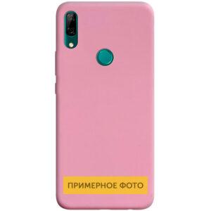 Матовый силиконовый TPU чехол для Vivo Y15 / Y17 – Розовый