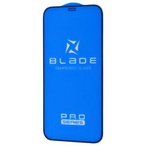 Защитное стекло 3D (5D) Blade Glass Full Glue на весь экран для Iphone 12 / 12 Pro – Black