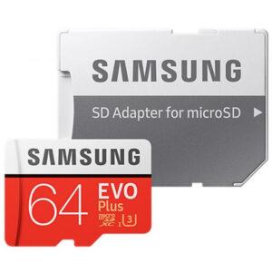 Карта памяти Samsung Micro SD 64GB Class HC-I 10