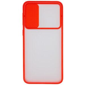 Чехол Camshield mate TPU со шторкой для камеры для Realme X3 SuperZoom / X3 / X50 – Красный