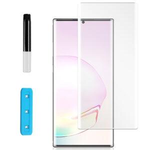 Защитное стекло 3D / 5D UV Full Glue с УФ клеем для Samsung Galaxy Note 20 Ultra – Clear