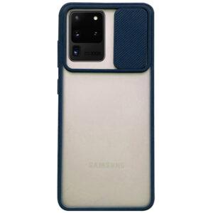 Чехол Camshield mate TPU со шторкой для камеры для Samsung Galaxy S20 Ultra – Синий