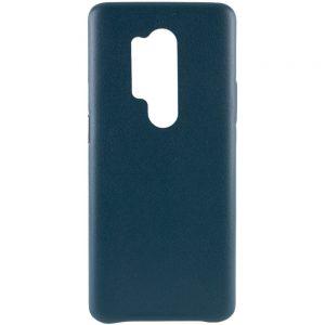 Кожаный чехол Leather Case для OnePlus 8 Pro – Зеленый