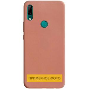 Матовый силиконовый TPU чехол для Vivo Y15 / Y17 – Rose Gold