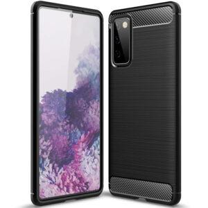 Cиликоновый TPU чехол Slim Series для Samsung Galaxy S20 FE – Черный