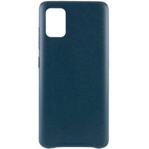 Кожаный чехол Leather Case для Samsung Galaxy A31 – Зеленый