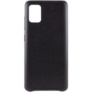 Кожаный чехол Leather Case для Samsung Galaxy A31 – Черный
