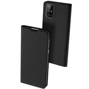 Чехол-книжка Dux Ducis с карманом для Samsung Galaxy M51 — Черный