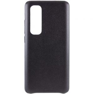Кожаный чехол Leather Case для Xiaomi Mi Note 10 Lite – Черный
