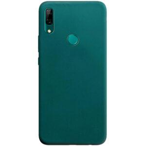 Матовый силиконовый TPU чехол на Huawei Y6s / Honor 8A – Зеленый / Forest green