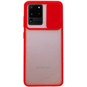 Чехол Camshield mate TPU со шторкой для камеры для Samsung Galaxy S20 Ultra – Красный