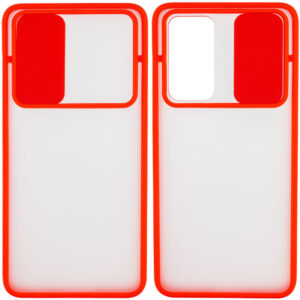 Чехол Camshield mate TPU со шторкой для камеры для OnePlus Nord – Красный