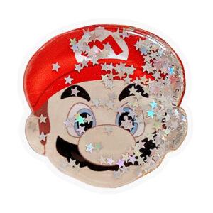 Держатель для телефона PopSockets круглый (liquid shine) – Марио