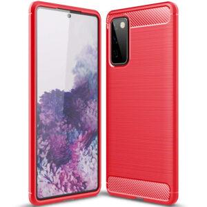Cиликоновый TPU чехол Slim Series для Samsung Galaxy S20 FE – Красный