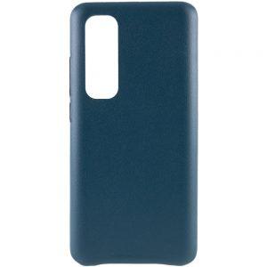 Кожаный чехол Leather Case для Xiaomi Mi Note 10 Lite – Зеленый
