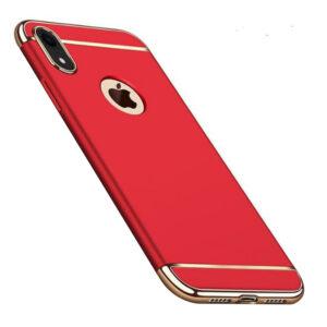 Матовый пластиковый чехол Joint Series для Iphone XR – Красный